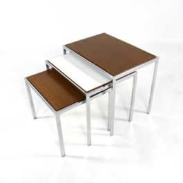 Set Of 3-Sided 1960s Nesting Tables