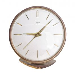 Sheffield, West Germany Table Clock Mid-Century Modern