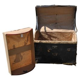 Early 20th Century Steamer Trunk