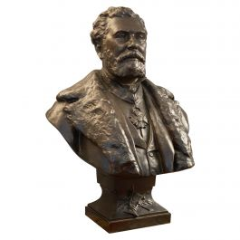 19th Century Bronze Bust from Thiebaut Freres Paris Foundry