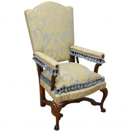 18th Century French Walnut Reclining Chair