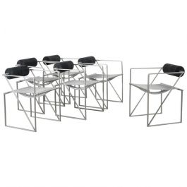 Mario Botta Seconda chairs 6Alias, Italy, c1985