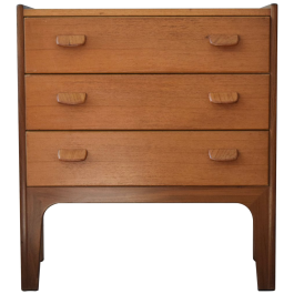 Mid-Century Danish Teak Cabinet by Poul Volther for FDB, 1960s