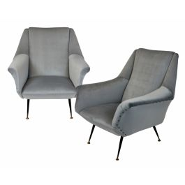A Pair Of Armchairs By Gio Ponti