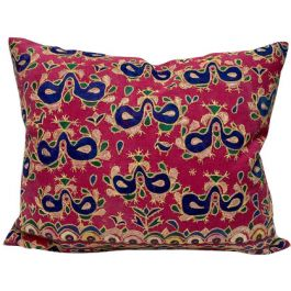 Cushion in Vintage Indian Textiles 01
