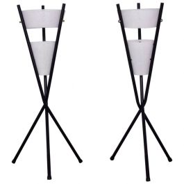 Pair of Table Lamps with Tripod Base, after McCobb