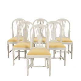 Set of 6 Ax Chairs