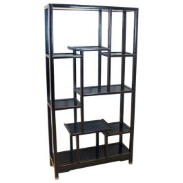 Chinese Wooden Free Standing Shelving Unit