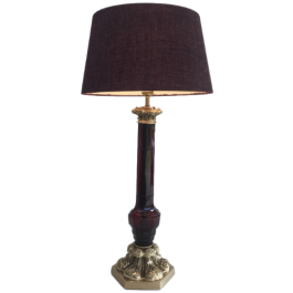 ATT TO CRISTAL & BRONZE PARIS TABLE LAMP