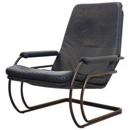 Model 301 Lounge Chair by Jan des Bouvrie for Gelderland