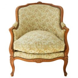 Louis XV Revival Armchair French to Recover