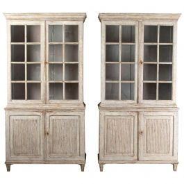 Pair of Continental Bookcases