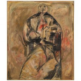 Large Painting by Valter Gibson '1928-2002'