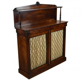 Victorian Rosewood Chiffonier