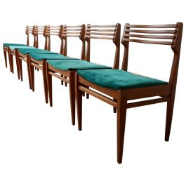 Midcentury French Dining Chairs