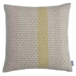 Contemporary Weave Lambswool Cushion