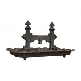 Large Antique Boot Scraper, English, Wrought Iron, Aesthetic Period, circa 1880