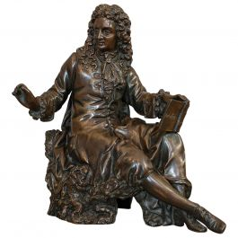 Antique Fontaine Figure, French, Bronze, Statue, After Ernest Rancoulet