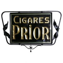 Double Sided Reverse Painted Cigar Hanging Advertising Sign