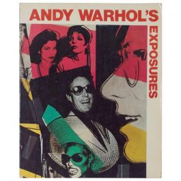 Andy Warhol's Exposures Rare Soft Cover Edition