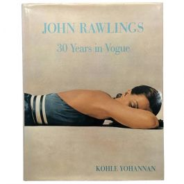 John Rawlings - 30 Years in Vogue - Kohle Yohannan Book