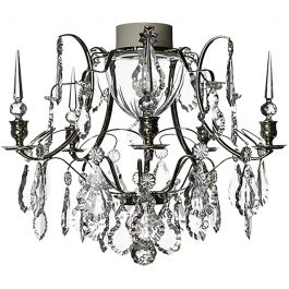 Chrome Bathroom Chandelier 11