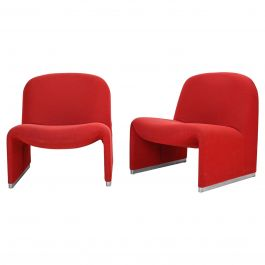 Six Alky Chairs by Giancarlo Piretti for Artifort