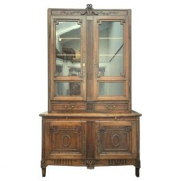 Antique Bibliotheque by F. C. Menant, Louis XVI Style 18th Century, French