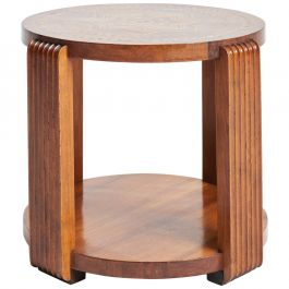 Large Art Deco Parquetry Table