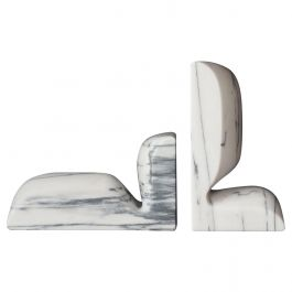 Marble 'SLO' Book Ends by Christophe Delcourt for Collection Particulière