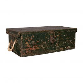 Small Antique Mariner's Trunk, English, Pine, Chest, Late Victorian, Circa 1900