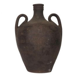 Late 19th Century Two Handled Antique Portuguese Stoneware Jug