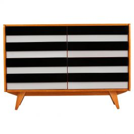 Sideboard U 453 by Jiří Jiroutek for Interier Praha with Wooden Drawers., 1960s