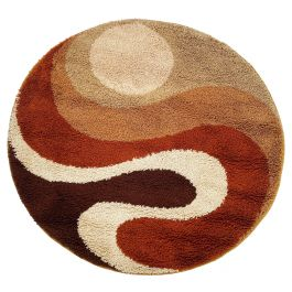 Small Psychedilic 1970s High Pile Rug by Prinstapijt Desso, Netherlands no 2