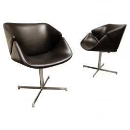 Pair of Exquis Armchairs by Geoffrey Harcourt for Artifort, 1960s