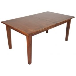 MIDCENTURY DANISH ROSEWOOD EXTENDING DINING TABLE