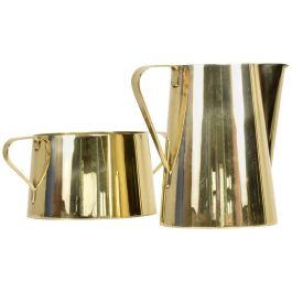 1960s Creamer And Sugar Bowl By Tommi Parzinger