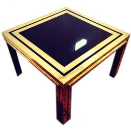 A MERCIER FRERES SIDE TABLE