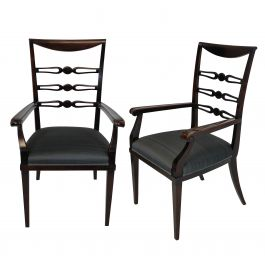 A Pair Of Fine Armchairs By Paolo Buffa