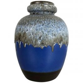 Large Pottery Fat Lava Multicolor 286-42 Vase Made by Scheurich, 1970s