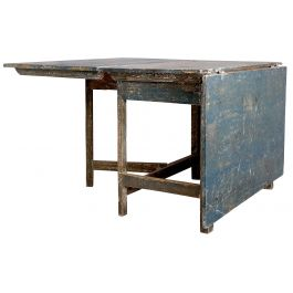 Antique Swedish Gate Leg Table