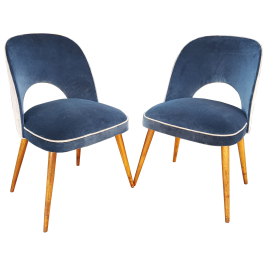 Pair of Osvaldo Borsani chairs