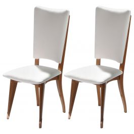 Pair of Midcentury Scandinavian Teak Chairs, 1960s