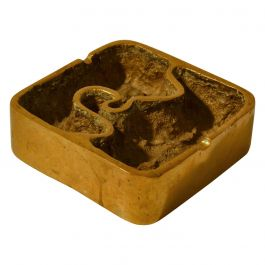 Bronze Sculpture Ashtray or Paperweight