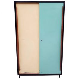 1950s Original School Cabinet By Willy Van Der Meeren For Tubax, Belgium
