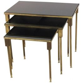 Luxurious Set of Maison Charles Nesting Tables