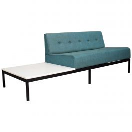 Sofa with Marble Coffee Table by Kho Liang Ie for Artifort, circa 1960