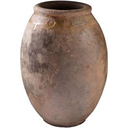 Mid-19th Century Terracotta Olive Jar of Large Scale