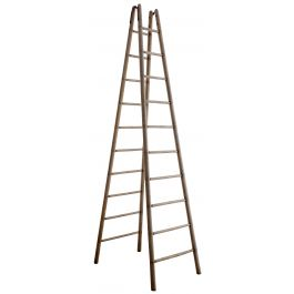 Faux Bamboo Library Ladder