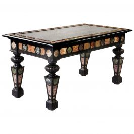 Important 19th Century Florentine Marble Centre Table